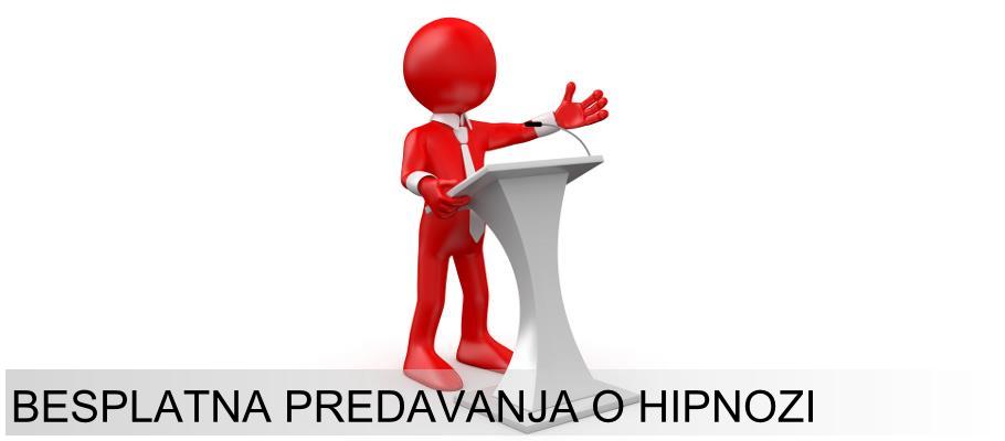 Besplatna predavanja o hipnozi